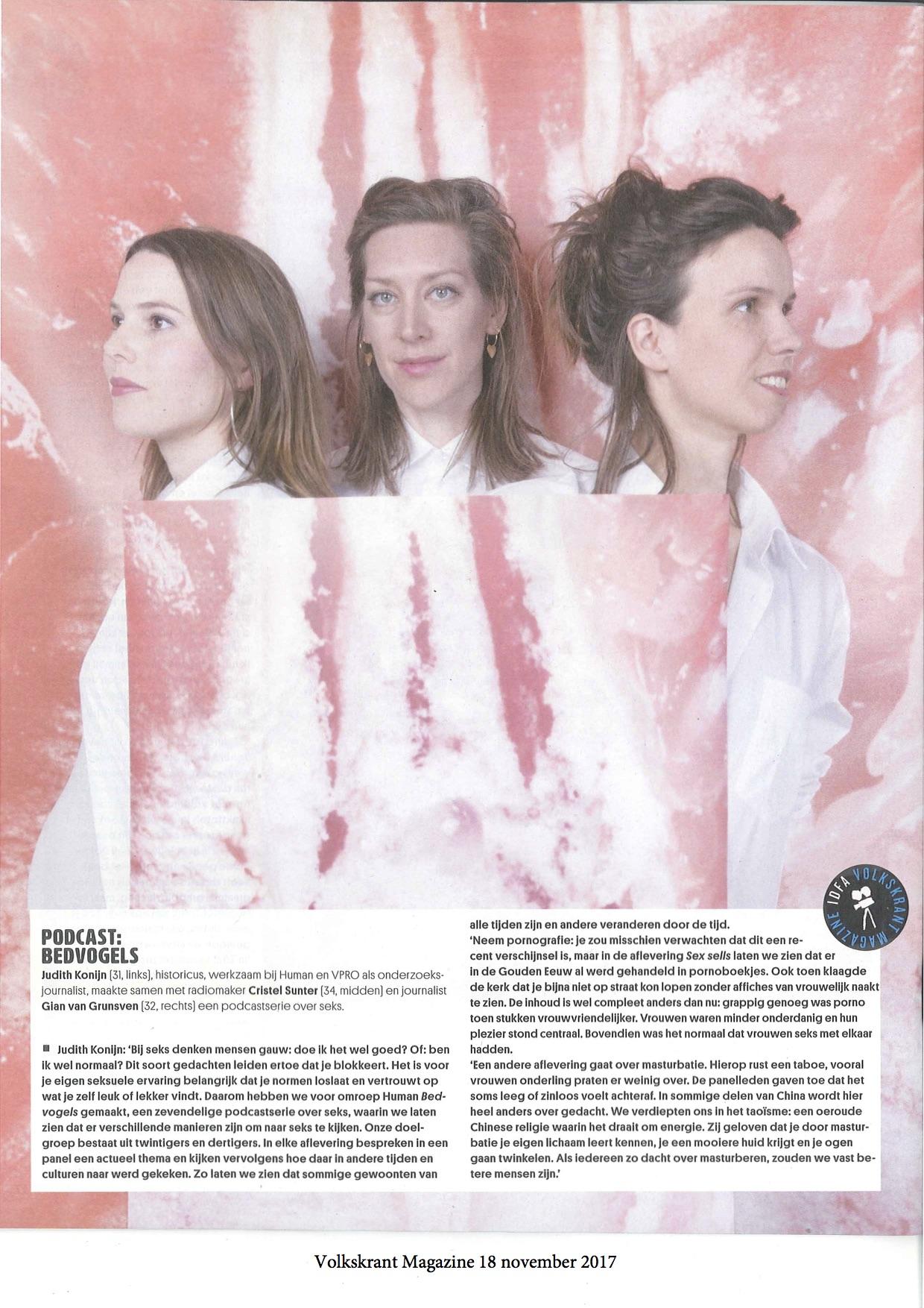 VK Magazine 18-11-17 - Podcast Bedvogels